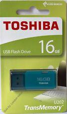 Toshiba 16GB USB Flash Drive Memory Stick Thumb Pen Drive