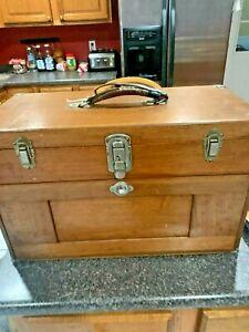 Gerstner 7 Drawer Oak tool box 7 Drawer nice box