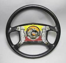 BMW E34 5-Series E24 E32 Factory Leather Airbag Steering Wheel 4-Spoke 1987-1990