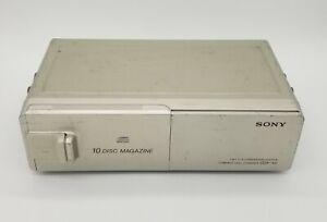 Sony 10 Disc Magazine 1 Bit D/A Converter Compact Disc Changer CDX-45RF UNTESTED