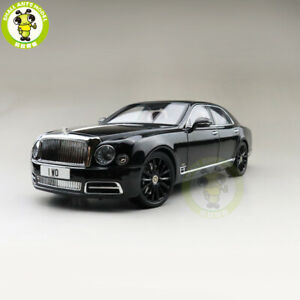 1/18 Bentley Mulsanne W.O. Edition Mulliner Almost Real Diecast Model car Black