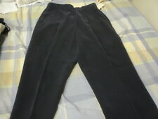 Dana Buchman Petites 100% silk blue with inner lining trousers pants size 8P