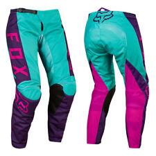 Fox Racing 180 Mujer Wmn Motocross MX Pantalones de Moto - Rosa/Violeta