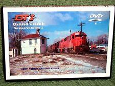 "n039 TRAIN VIDEO DVD ""GRAND TRUNK SERIES"" VOL. 2  1980's"