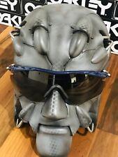 New Oakley M2 Frame XL Sunglasses, SKU 009343-02 Blue With Grey Lens