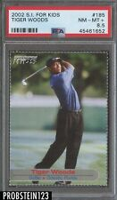 2002 Sports Illustrated For Kids Golf #185 Tiger Woods PSA 8.5 NM-MT+