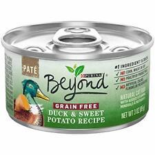 Purina Beyond Grain Free, Natural Pate Wet Cat Food, Grain Free Duck & Sweet Pot