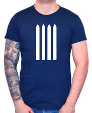"""""""Four Candles"""" T-Shirt 4 Fork Handles Funny Men's Top Tee The Two 2 Ronnies"""