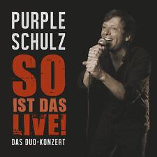 Purple Schulz - So Ist Das Live! CD *NEU*OVP*