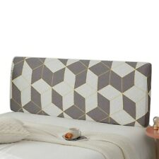 Headboard Slipcover Elastic Bedside Protector Cover Breathable Bed Head Cover