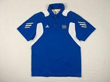 NEW adidas UCLA Bruins - Men's Blue Clima-lite Polo Shirt (M)