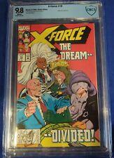 X-Force #19 CBCS 9.8 wp 1st Copycat not cgc