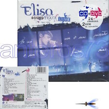 "ELISA ""SOUNTRACK LIVE 96-06"" CD+DVD LIMITED EDITION 2006 - SIGILLATO"