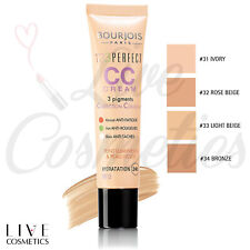 Bourjois 123 Perfect CC Cream Foundation Face Skin 24HR Hydration *CHOOSE YOURS*