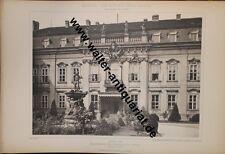 29 große Fotodrucke anno 1892 Berlin Kgl. Schloss Charlottenburg Ehem.Zeughaus..
