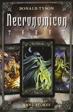 Necronomicon Tarot - Illustrated by Anne Stokes - 78 Card Deck & 240 Page Book