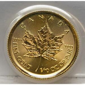 Kanada 5 Dollar 2021 - Maple Leaf - 1/10 oz. Gold