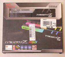 *NEW* G.SKILL TRIDENTZ RGB DDR4 32 GB (2X16 GB) 3200 MHz RAM