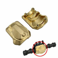 1/2pcs Brass Front Rear Axle Diff Cover 69g Heavy Weight For TRX4 RC Crawler