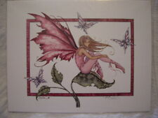 """Amy Brown Fairy Print - """" Pink """" - New"""