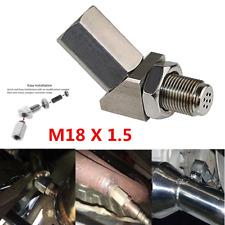 Engine Light 45° O2 Oxygen Sensor Spacer Adapter Catalytic Converter Fix Check