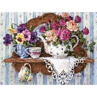 Flower Full Drill DIY 5D Diamond Painting Kits Embroidery Home Decors Mural