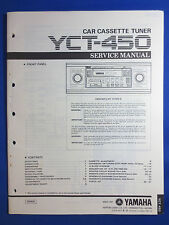 YAMAHA YCT-450 CASSETTE TUNER CAR AUDIO SERVICE MANUAL ORIGINAL FACTORY ISSUE
