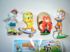 LOONEY TUNES ACTIVE SPORTS 2008 SMALL SET KINDER SURPRISE FIGURES COLLECTIBLES