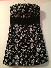 Day Of The Dead Dress Size M