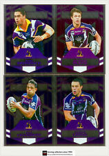 2012 Select NRL Dynasty Silver Foil Parallel Card Team Set Storm(12)