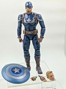 Marvel Legends Mandroid BAF Build A Figure Series Captain America Stealth Outfit