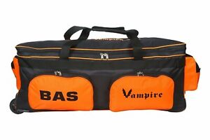 BAS International Large Cricket Wheelie Kit Bag Player Grade +AU Stock+Free Ship