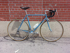 VINTAGE CINELLI STEEL FRAME CAMPAGNOLO NISI WHEELS HAND STICHED LEATHER CHROME