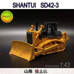 1/43 SHANTUI SD42-3  Bulldozer Forklift  Car truck Model Engineering Vehicle