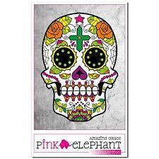 Sugar Skull 50 - 12 cm - Aufkleber - Dia de los muertos Day of the Dead Sticker