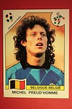 Panini ITALIA 90 N. 326 BELGIQUE PREUD'HOMME VERY GOOD/MINT CONDITION!!