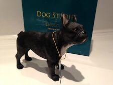 Black French Bulldog  Dog Ornament Figurine Gift Boxed