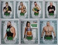 2019 Topps WWE Money in the Bank Money Cards Complete Your Set You U Pick Cards