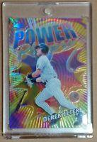 Derek Jeter 2000 Topps Chrome Power Players REFRACTOR 🔥🔥🔥 NY Yankees HOF