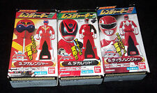 Power Rangers Pirates GOKAI LEGEND GoOnger RED #3 4 5 KEY LOT MISB Japan Bandai