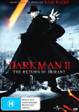 Darkman II - The Return Of Durant (DVD, 2012) - Region 4