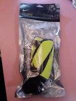 Nike Charge Soccer Shin Guards Youth Sz S lime green  New but Open package