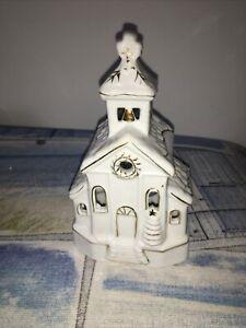 Christmas Church T Light Holder