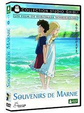 DVD Film Souvenirs de Marnie Walt Disney Studio Ghibli Yonebayashi Miyazaki Neuf