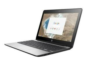 "HP 1BS76UT#ABA Chromebook 11 G5 Intel Celeron N3060 1.6GHz 4gb 16gb eMMC 11.6"""