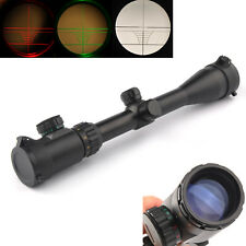 3-9x40EG Red/Green Illuminated Air Rifle Optics Sniper Scope Sight Rangefinder