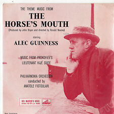 """Philharmonia Orchestra - The Horse's Mouth 7"""" Ep 1959 / Alec Guinness"""