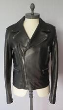 GUCCI en cuir noir moto veste (RRP £ 4,500)