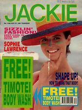 Jackie Magazine 27 July 1991 No. 1438    Take That   Sophie Lawrence   The Twins