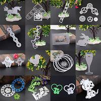 Metal Cutting Dies Stencil Scrapbook Paper Cards Craft Embossing DIY Die-Cut